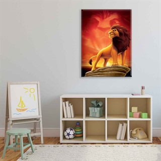 The Lion King Mufasa - Fotolærred (100cm x 75cm)