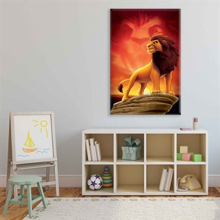 The Lion King Mufasa - Fotolærred (60cm x 40cm)