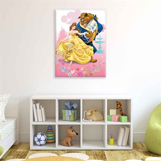 Disney Princesses Belle - Fotolærred (100cm x 75cm)