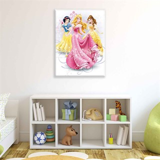 Disney Princesses Aurora Belle  - Fotolærred (100cm x 75cm)