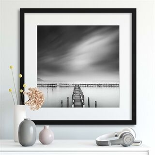 By the Sea 012 by George Digalakis - Indrammet plakat