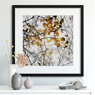 Autumn Song by Gilbert Claes - Indrammet plakat