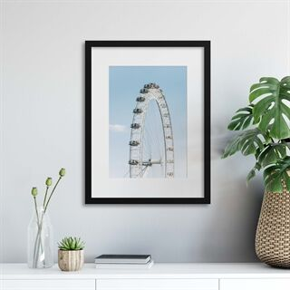 London Eye - Indrammet plakat