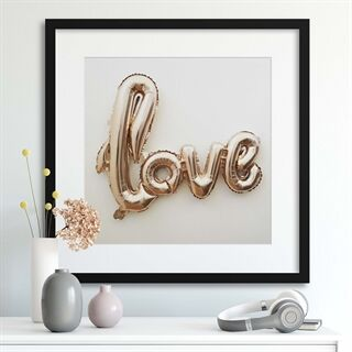 Love, Inflated - Indrammet plakat