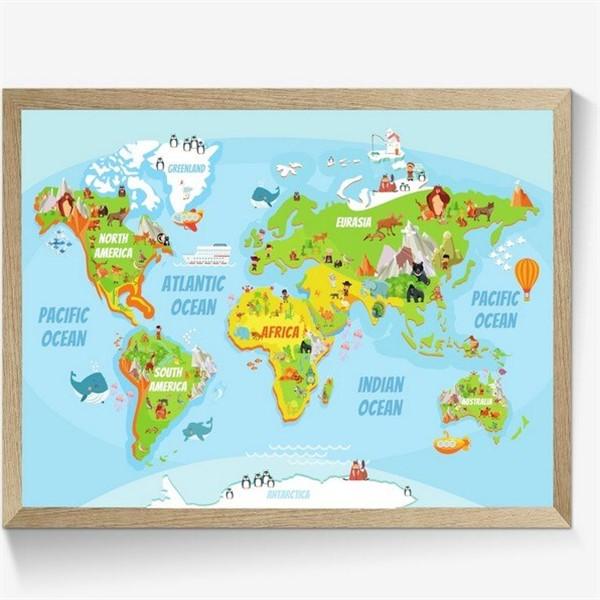 verdenskort