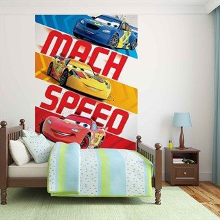 Tapet-disney-cars-lightning-mcqueen--fototapet-vægmaleri-3058wm-disney-cars