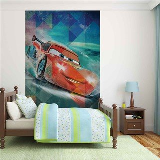 Tapet-disney-cars-lightning-mcqueen--fototapet-vægmaleri-3216wm-disney-cars