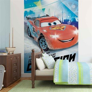 Tapet-disney-cars-lightning-mcqueen--fototapet-vægmaleri-3220wm-disney-cars
