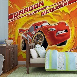 Tapet-disney-cars-lightning-mcqueen--fototapet-vægmaleri-815wm-disney-cars