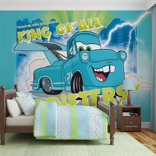 Tapet-disney-cars-fototapet-vægmaleri-816wm-disney-cars