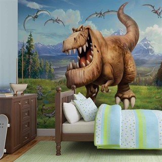 Tapet-disney-good-dinosaur-boys-bedroom-fototapet-vægmaleri-3172wm-disney-the-good-dinosaur