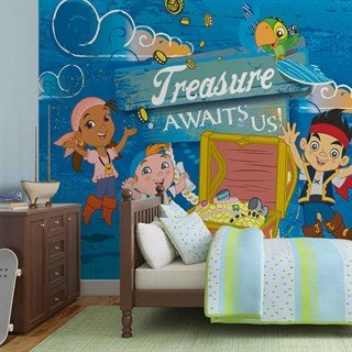 Disney Jake Neverland Pirates - Tapet/fototapet