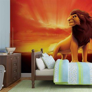Tapet-disney-lion-king-sunrise-fototapet-vægmaleri-3205wm-disney-the-lion-king