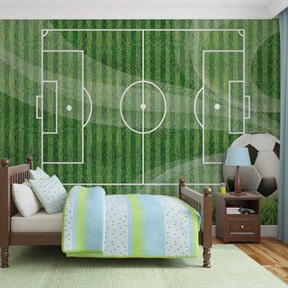 Football Pitch - Tapet/fototapet
