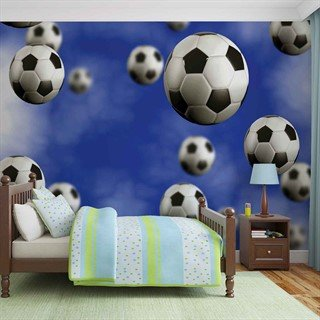 Football Soccer - Tapet/fototapet