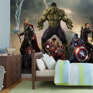 Tapet-marvel-avengers-battle-fototapet-vægmaleri-3361wm-marvel-avengers