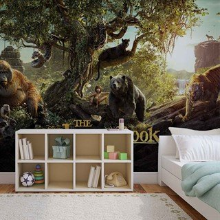 Tapet-the-jungle-book-fototapet-vægmaleri-3535wm-disney-jungle-book
