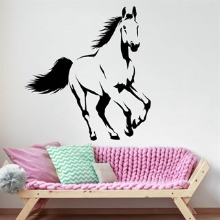 Wallstickers - Flot hest i galop