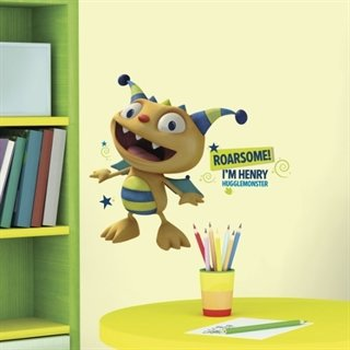 Henry hugglemonster - wallstickers