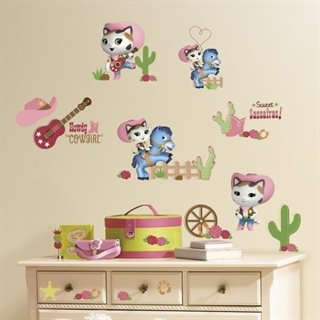 Sherif Callies wild west pakke - wallstickers