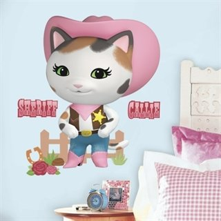 Sherif Callies wild west pakke stor - wallstickers
