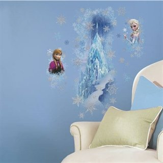 Wallsticker med Disneys Frost is-palads