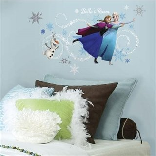 Wallsticker med Disneys Frost og alfabet