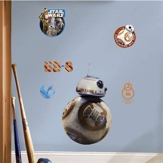 Wallsticker med Star wars bb 8