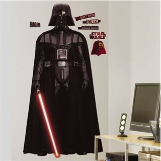 Star Wars wallsticker med Darth Vader