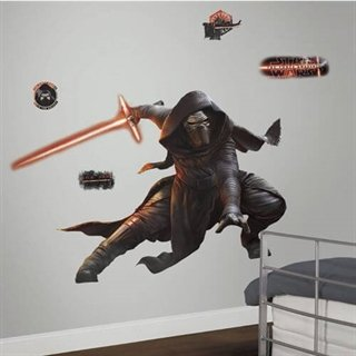 Wallsticker med Awakens Kylo