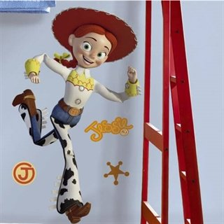 Jessie wallsticker fra Toy story