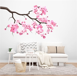 Cherry Blossom gren - wallstickers