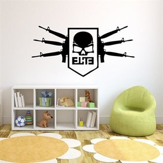 wallstickers med  call of duty elite