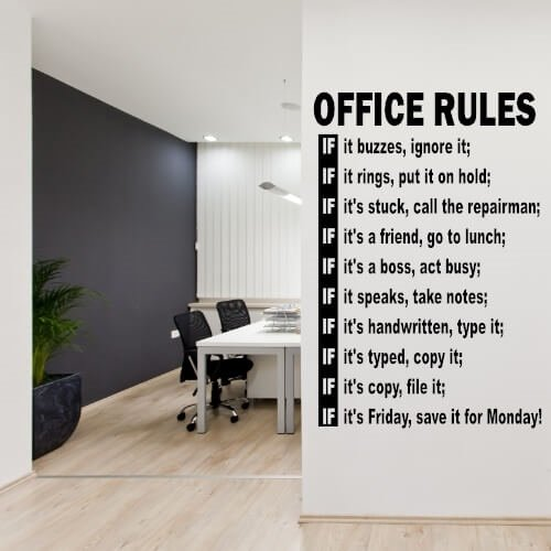 kontor regler