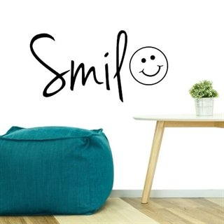 Smile med en sød Smiley